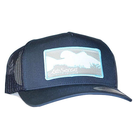 6th SENSE NAVY/NAVY FISH LOGO HATS