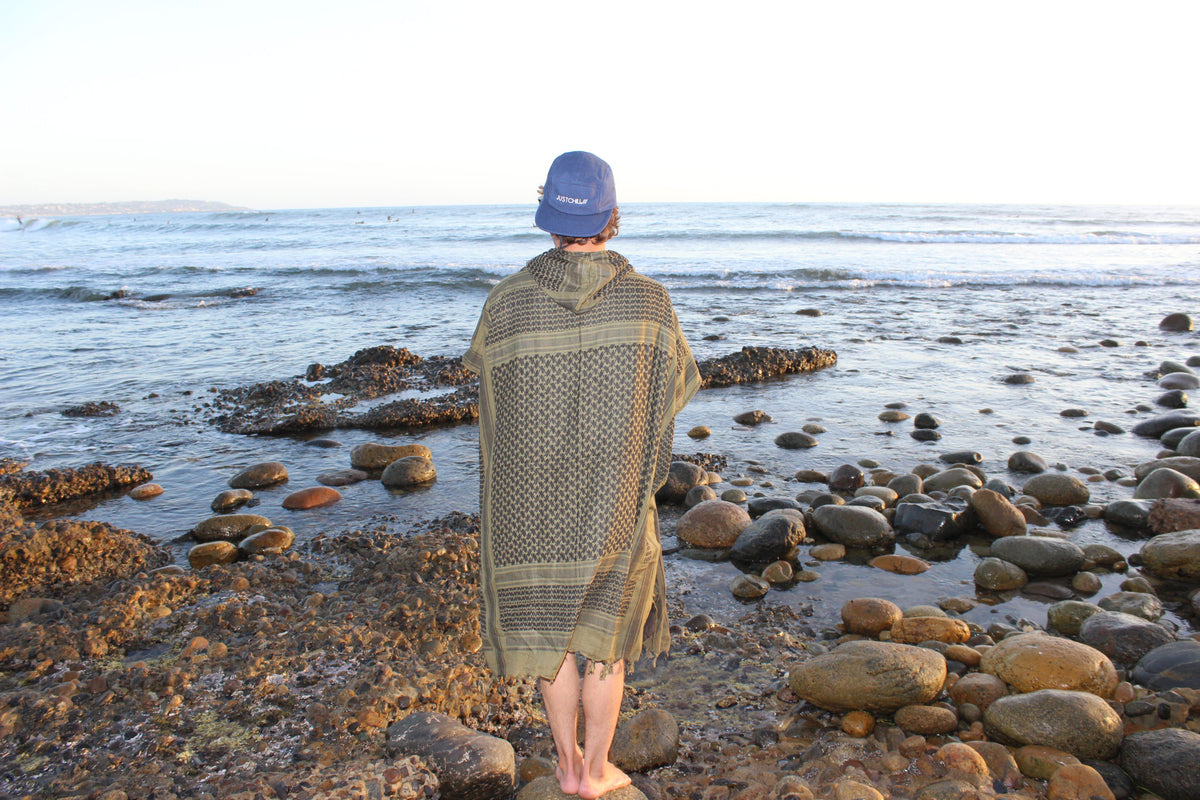 The Koa Poncho x Game Changer