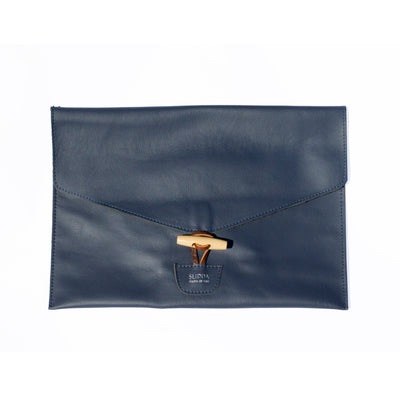 Laptop Sleeve (Navy Leather)