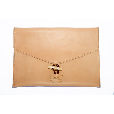 Laptop Sleeve (Natural Leather)
