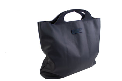 Navy Shopping Bag