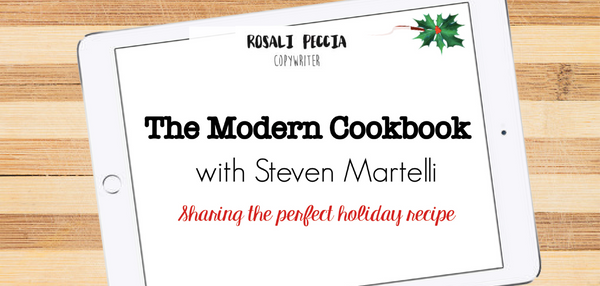 Rosali Peccia - The Modern Cookbook with Steven Martelli