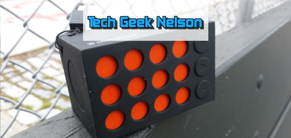 TECH GEEK NELSON — Bluetooth Speaker from LOGiiX, Blue Piston Elements Mini [REVIEW]