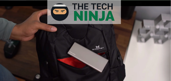 THE TECH NINJA — WHAT'S IN KEVIN'S BAG?
