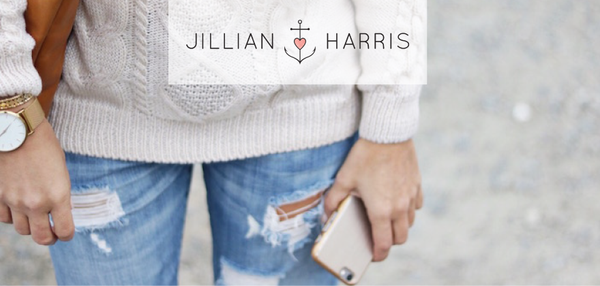 JILLIAN HARRIS — SWEATER WEATHER WITH LOGIIX IPHONE CASE