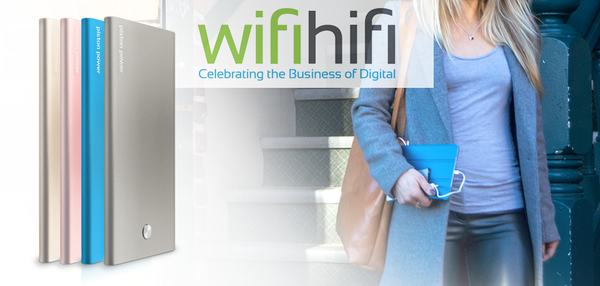 WIFIHIFI — CHARGING ON-THE-GO IN STYLE