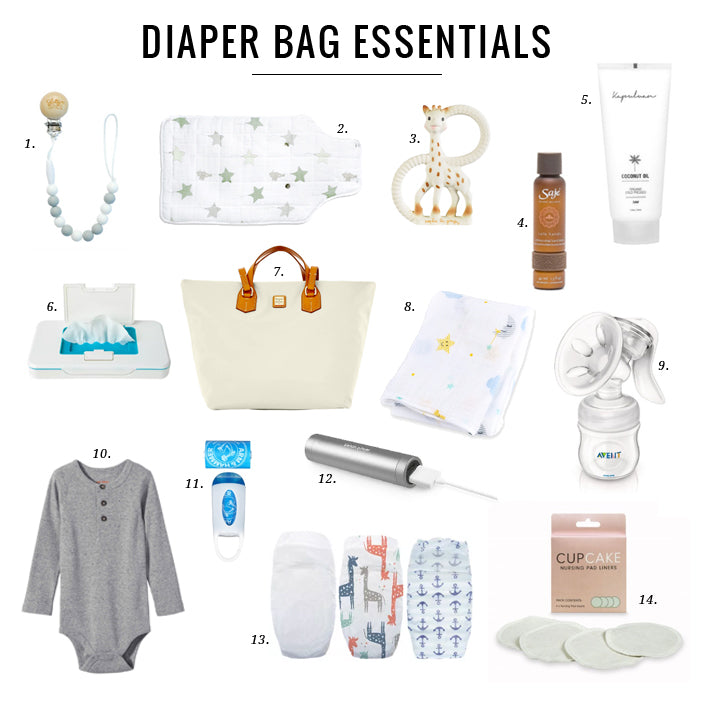 Jillian Harris — Diaper Bag Essentials