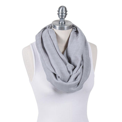 Bebe Au Lait Deluxe Blend Muslin Nursing Scarves (Pebble)