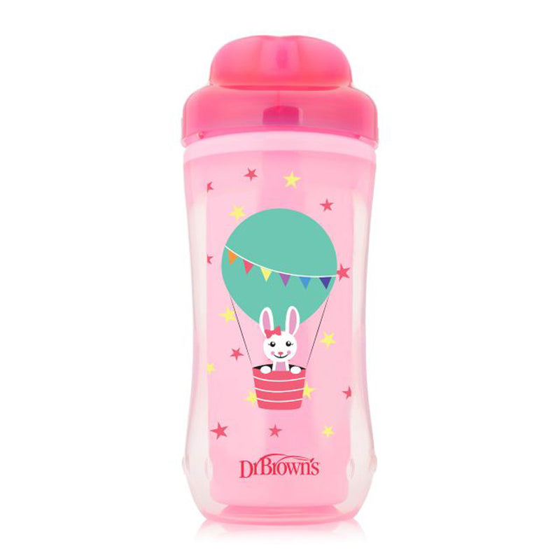 Dr Brown's 10 oz Spoutless Insulated Cup - Mermaid (Stage 4: 12m+)