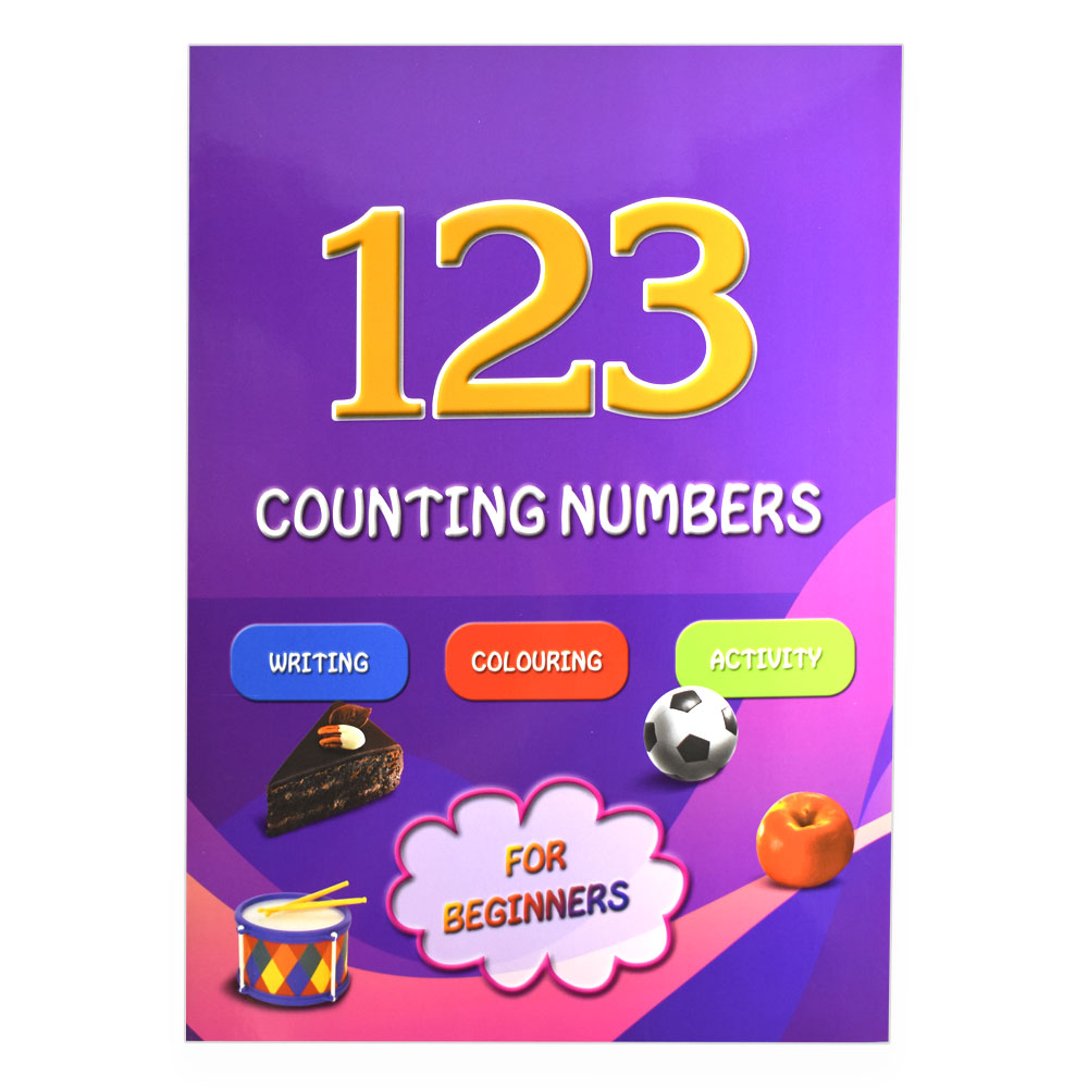 123 Counting Numbers, English