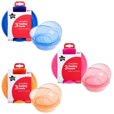 Tommee Tippee Essentials Bowls, Pack of 3
