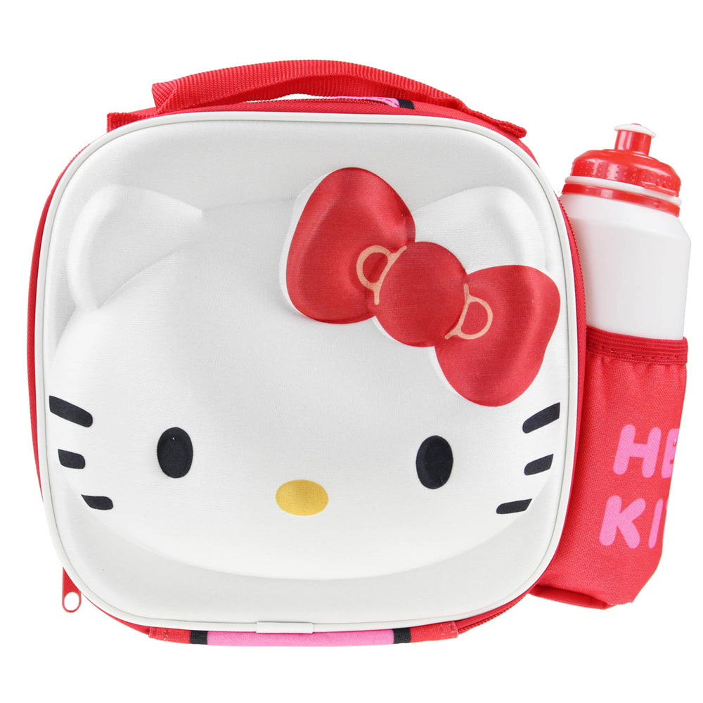 Hello Kitty 3D Thermal Lunch Bag with Bottle