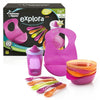 Tommee Tippee Explora Feeding & Drinking Kit - Pink