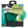 Tommee Tippee Explora 4 Feeding Bowls, Pack of 4