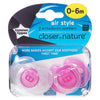 Tommee Tippee Closer to Nature 2X 0-6M Air Soother