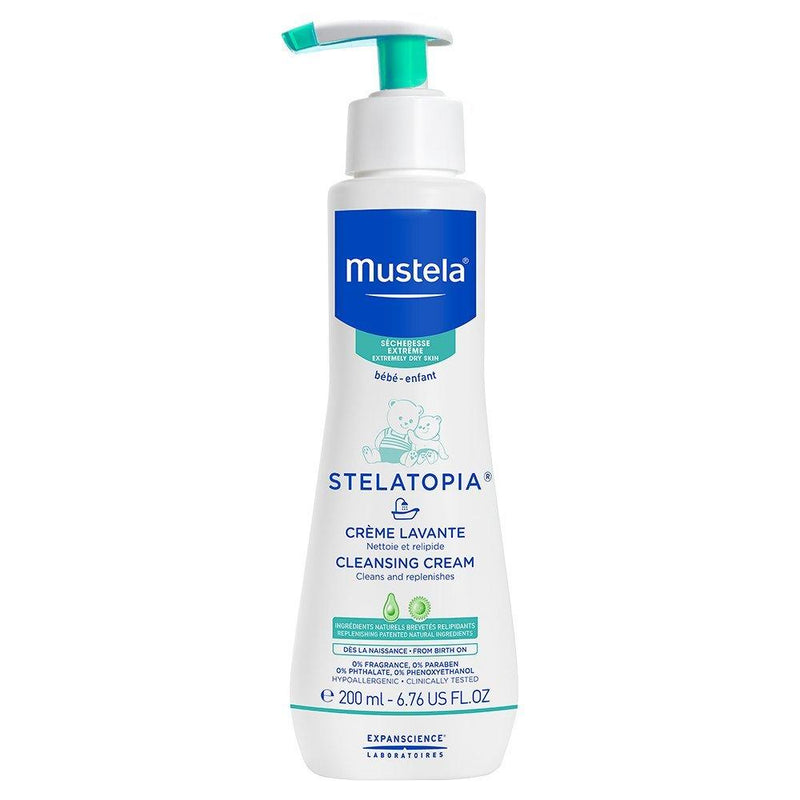 Mustela Stelatopia Cleansing Cream, 200Ml