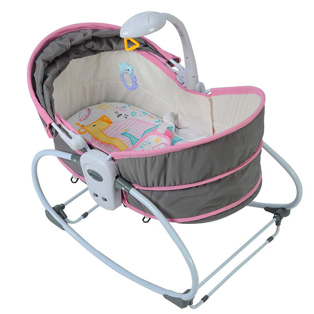 5 in 1 Baby Sleep Chair - Pink