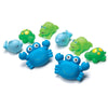 Playgro Bathtime Squirtees 8pcs Blue