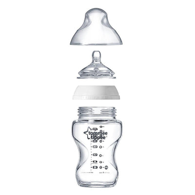 Tommee Tippee Closer To Nature, Glass Bottle 250Ml