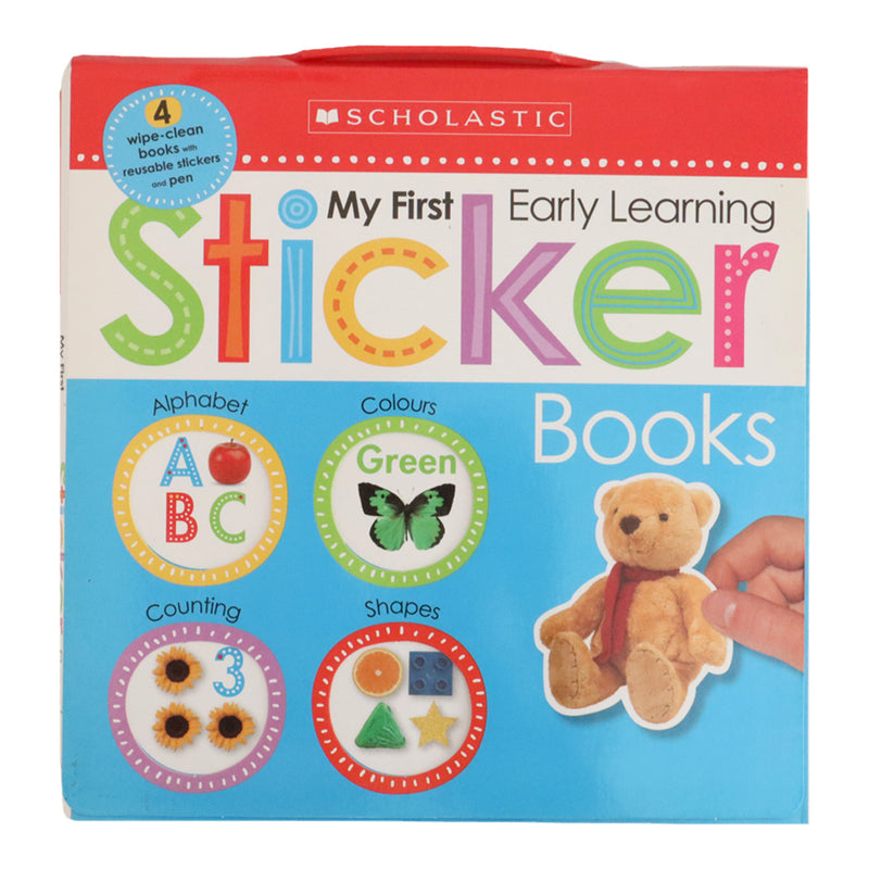 MY FIRST EARLY LEARNING STICKER BOOK