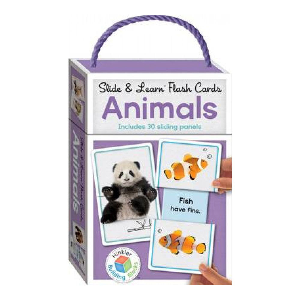 Building Blocks Slide & Learn Flashcards Animals