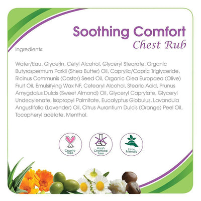 Aleva Naturals Soothing Comfort Chest Rub, 50Ml