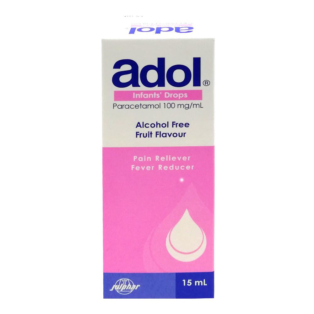 ADOL PEDIATRIC ORAL DROPS 15ML