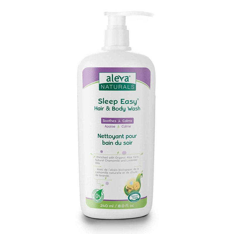 Aleva Naturals Sleep Easy Hair & Body Wash, 240Ml