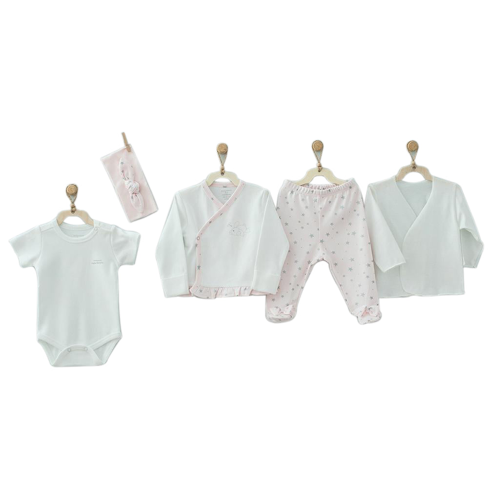 Andywawa 5 Pieces Set Chic Girl - Pink
