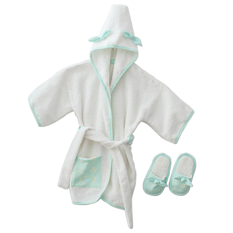 Andywawa Bathrobe Set Daisy - Mint