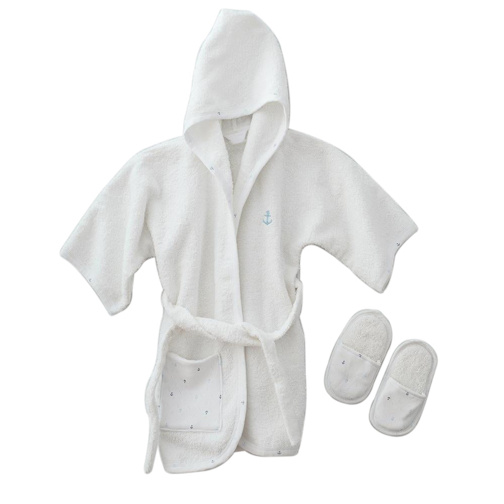 Andywawa Bathrobe Set Little Sailor - White