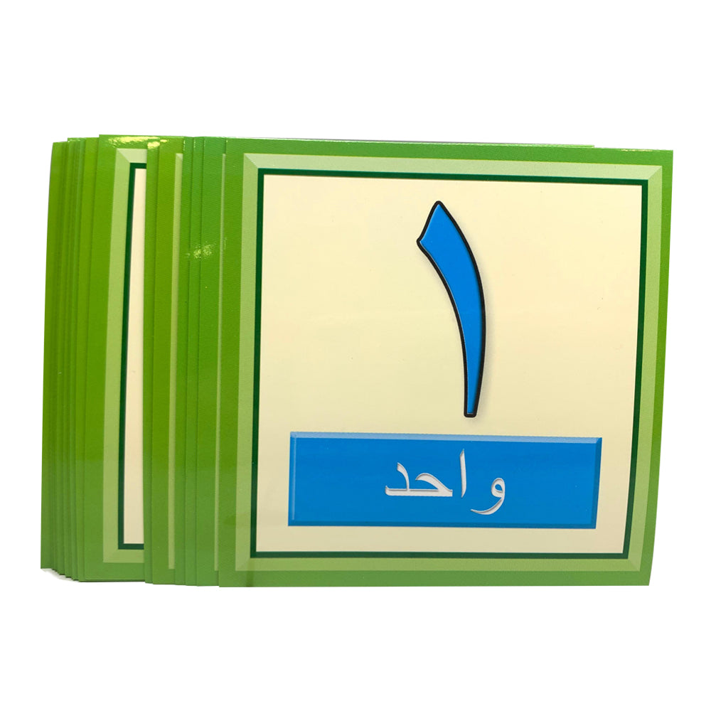 Arabic Number Flash Cards