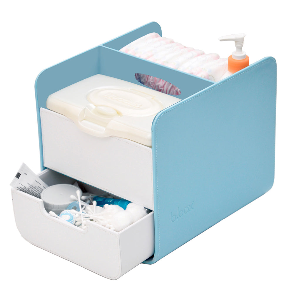 B.Box Diaper Caddy without Changing Mat - Blue Lagoon