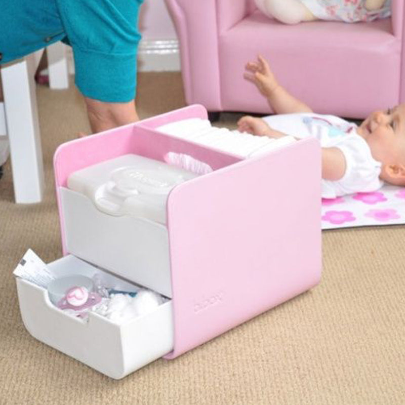 B.Box Diaper Caddy Only - Pink