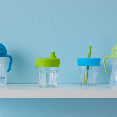 B.Box Silicone Lids Ocean Breeze