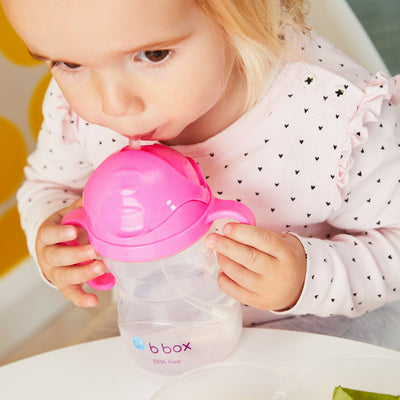 B.Box Sippy Cup Pink Pomegranate, Pink
