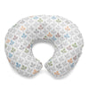 Boppy Cotton Slipcover - Silverleaf