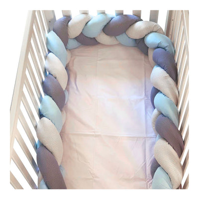 Baby Nest Bedding Set of 7 pieces, Blue