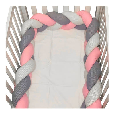 Baby Nest Bedding Set of 7 pieces, Pink