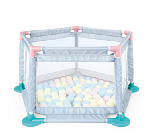 Safety Baby Fence with 10 Ocean Balls