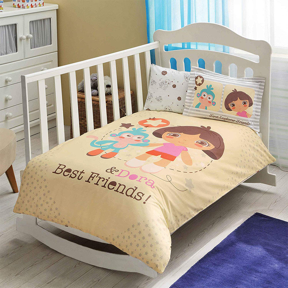 Tac Baby Bed Dora Duvet Cover Set