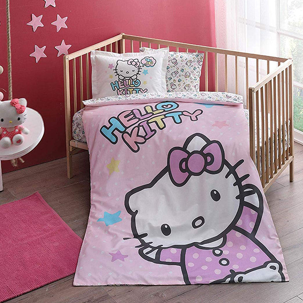 Tac Baby Bed Hello Kitty Duvet Cover Set
