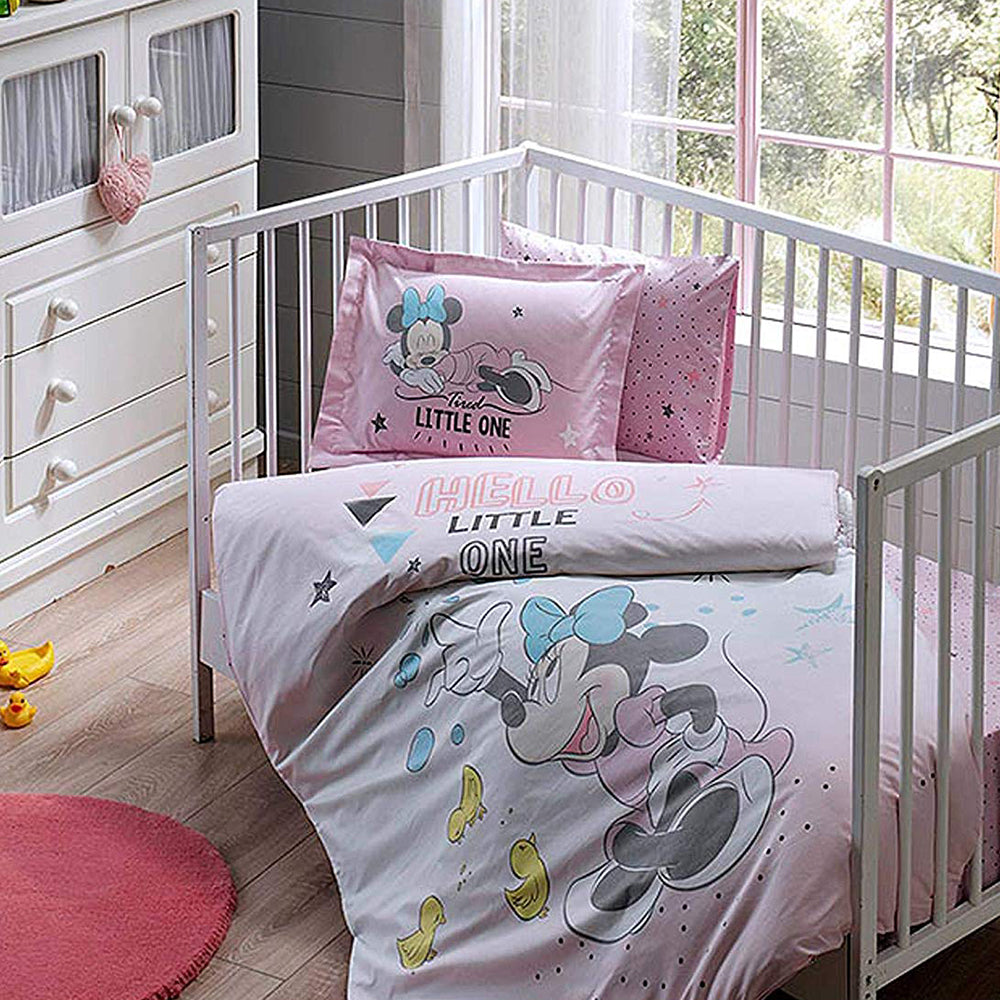 Tac Baby Bed Minnie Duvet Cover Set