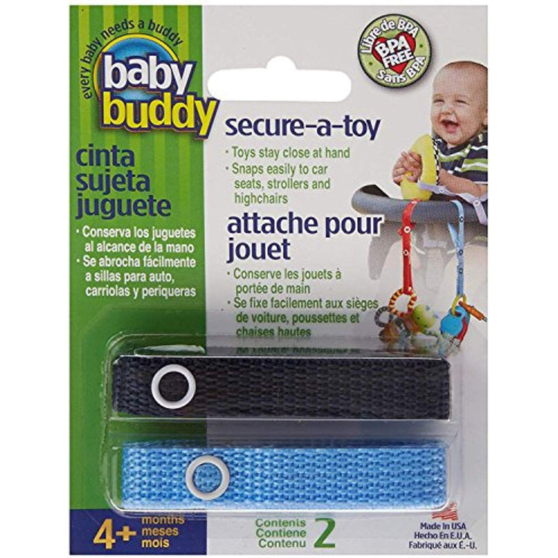 Baby Buddy Secure-A-Toy, Navy Blue