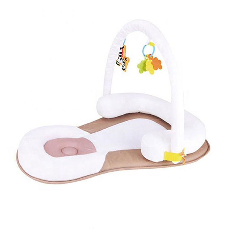 Portable sleep positioner with toys