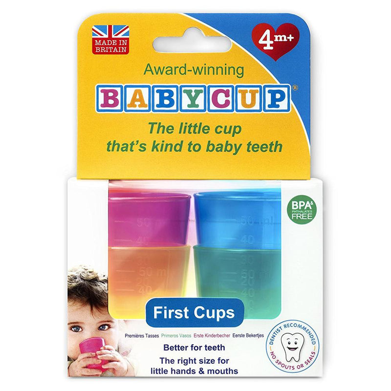 Babycup Baby and Toddler First Cup, MultiColored