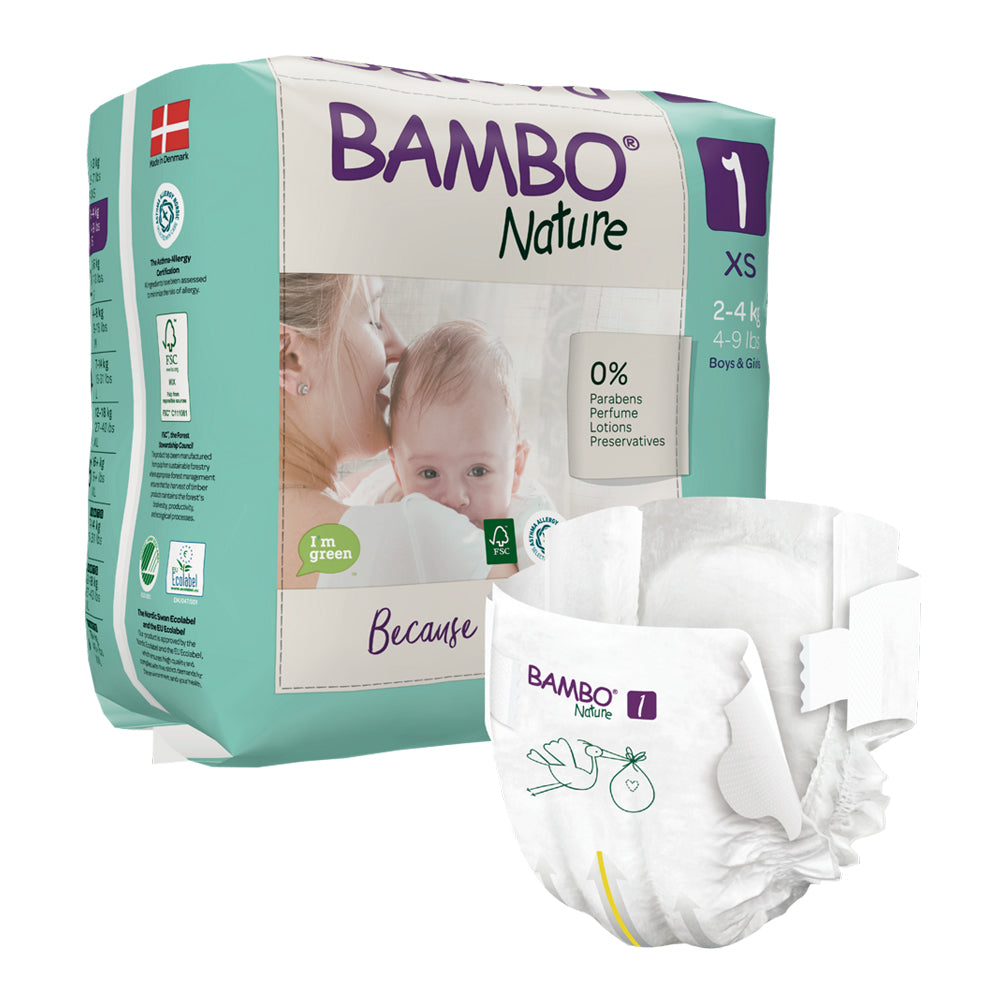 Bambo Nature SIZE 1 - 22 Diapers