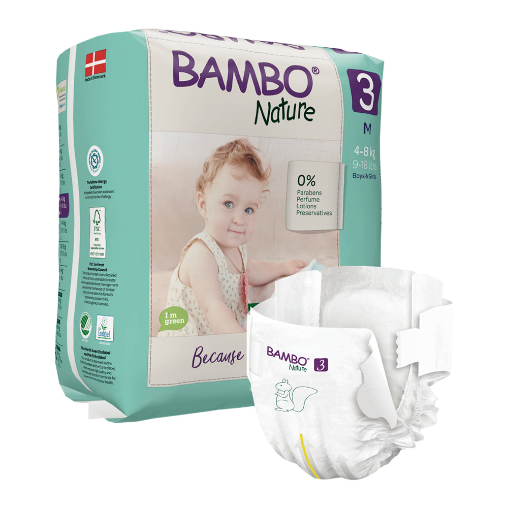 Bambo Nature SIZE 3 - 28 Diapers