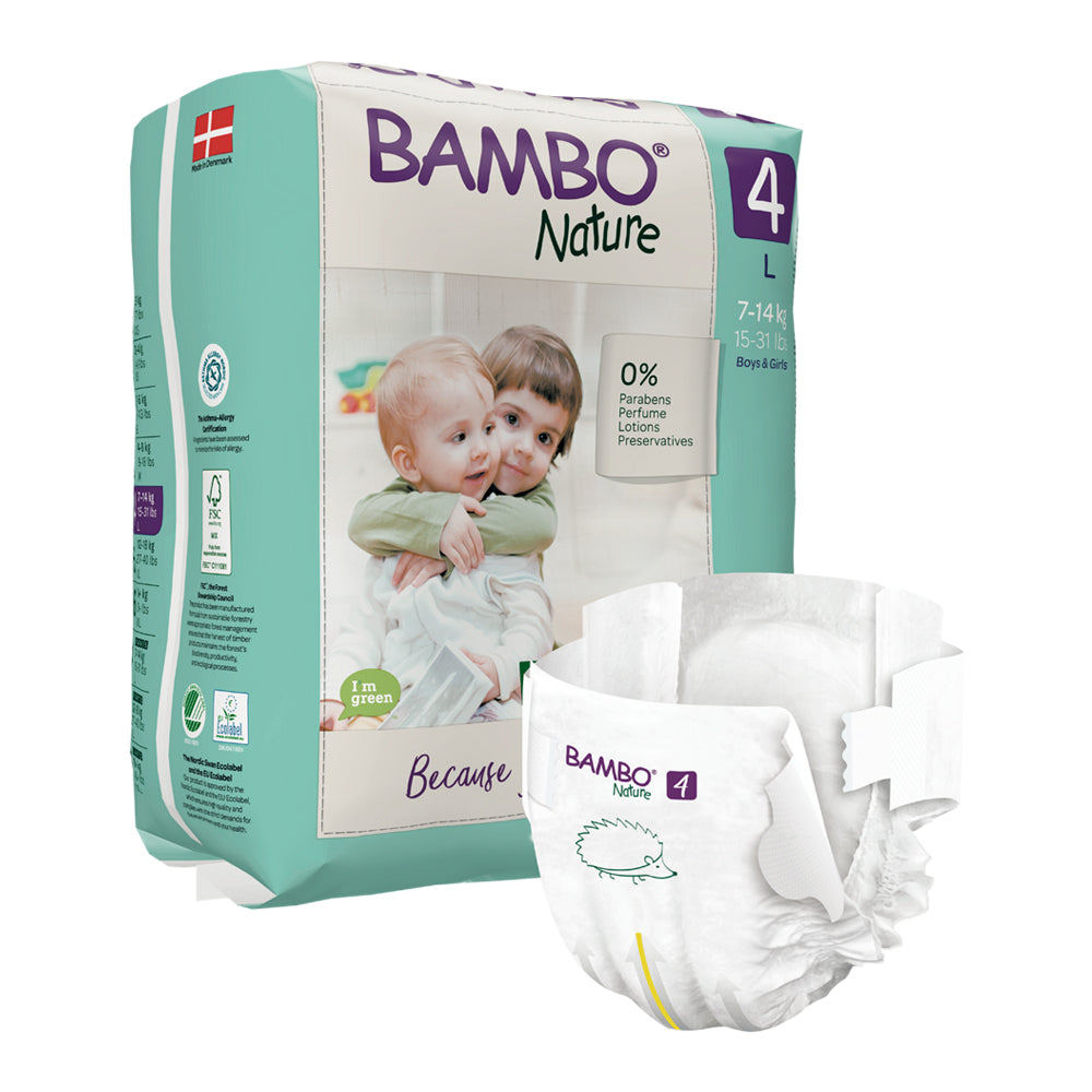 Bambo Nature SIZE 4 - 24 Diapers