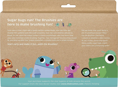 The Brushies Gift Set - the whole Brushies team & Story Book